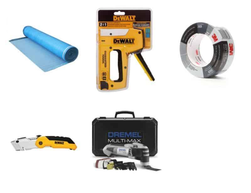 underlayment tools